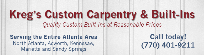 Kreg's Custom Carpentry & Built-Ins