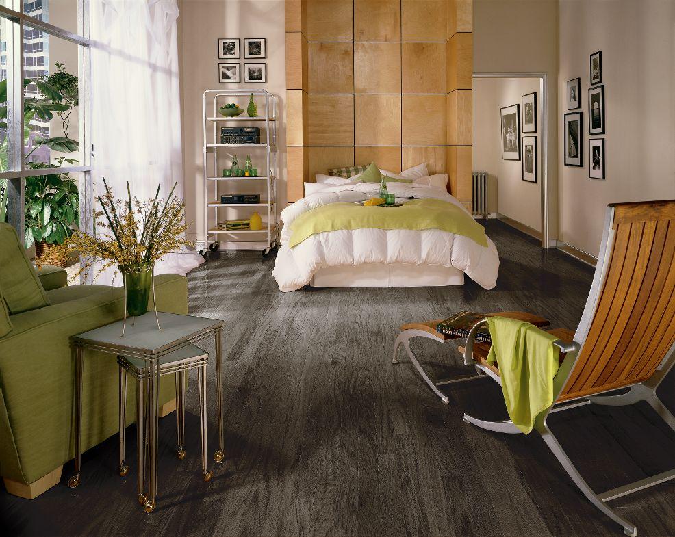 Gray Hardwood Floors - Christine Fife Interiors - Design With Christine - Gray Hardwood