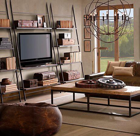restoration hardware living room from restoration hardware