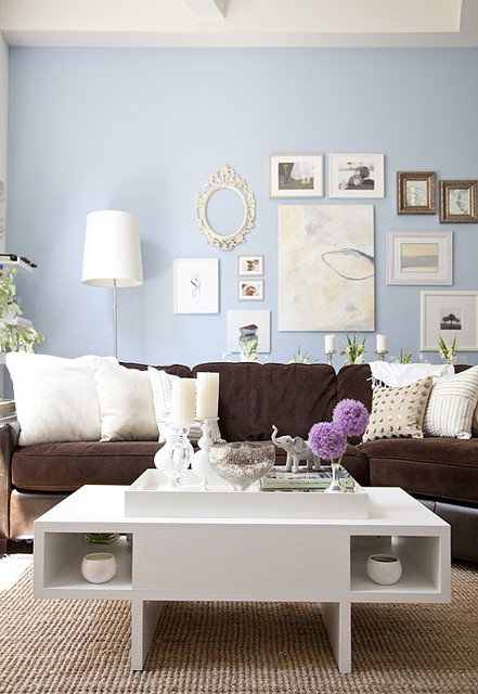 What Color Furniture Goes With Blue Walls My Web Value
