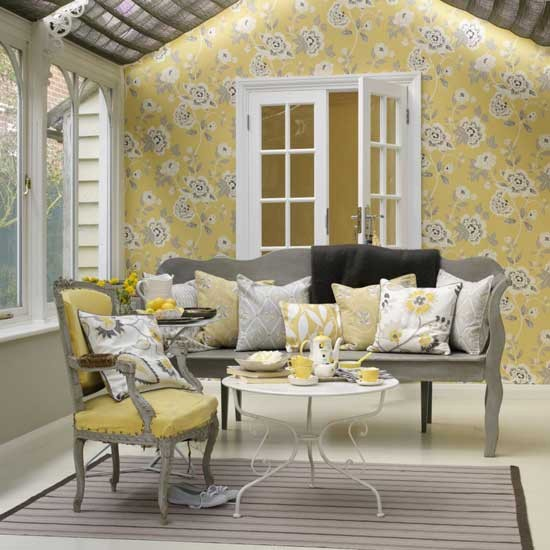 Gray And Yellow Are Perfect Together But Donu0027t Consider Your Colors For Only One Room