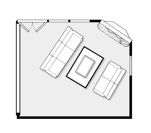Interior designer christine fife answers reader conundrum for Floor plan assistance