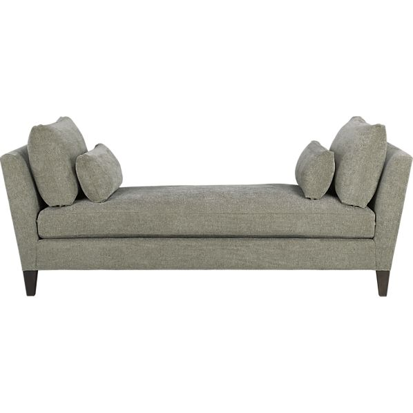 Backless sofa or couch creative modern backless couch for Chaise daybed sofa