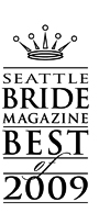 Seattle Bride Best of 2009 Award