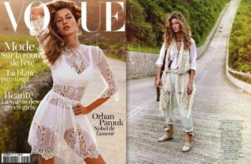 Emmanuelle Alts First Vogue Paris
