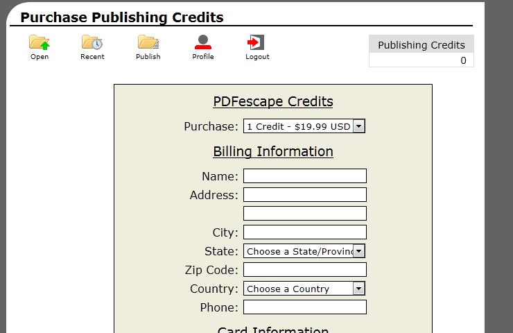 How to Publish a PDF Form - PDFescape & RAD PDF - Red
