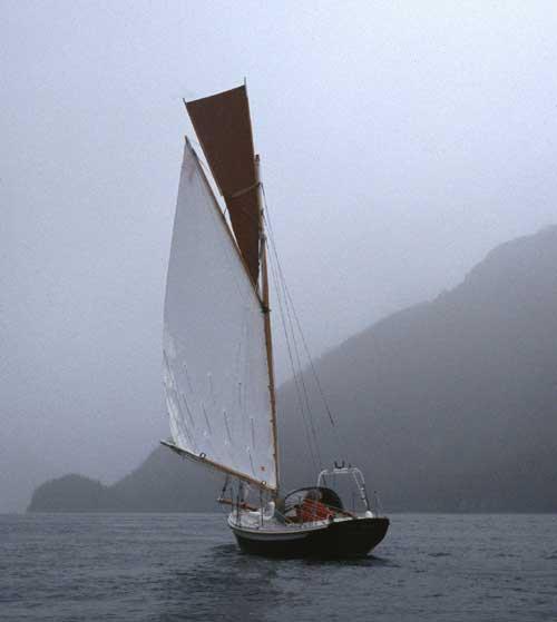Gartside Boats - Custom Boatbuilding - 22ft Gaff Cutter ...
