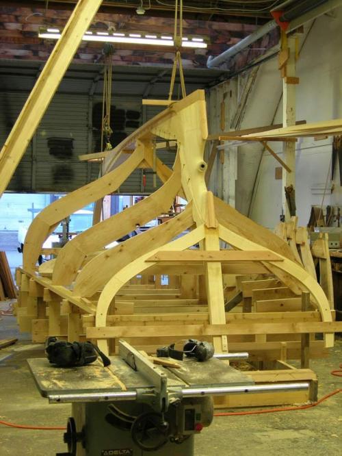 "Gartside Boats - Custom Boatbuilding - 24 ft Cutter Design ""Ila"" #98"
