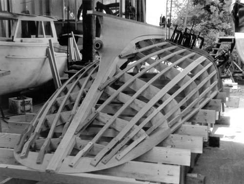 Gartside Boats - Custom Boatbuilding - 22 Foot Steam Launch Design #123