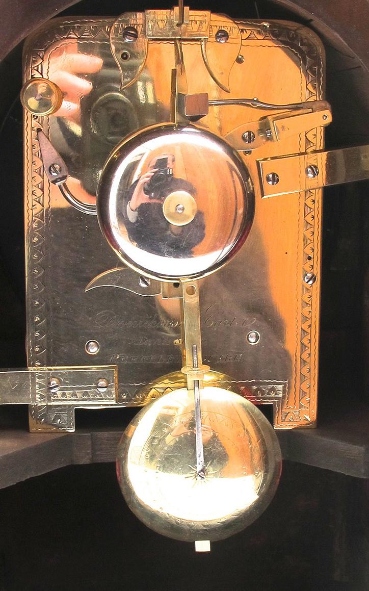 Edward Burd Clocks Sold Dwerrihouse Amp Carter Davies Street Berkeley Square C 1815 Stock No 3264