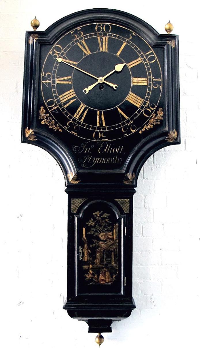 Edward Burd Clocks Sold Jno Elliott Plymouth C 1750