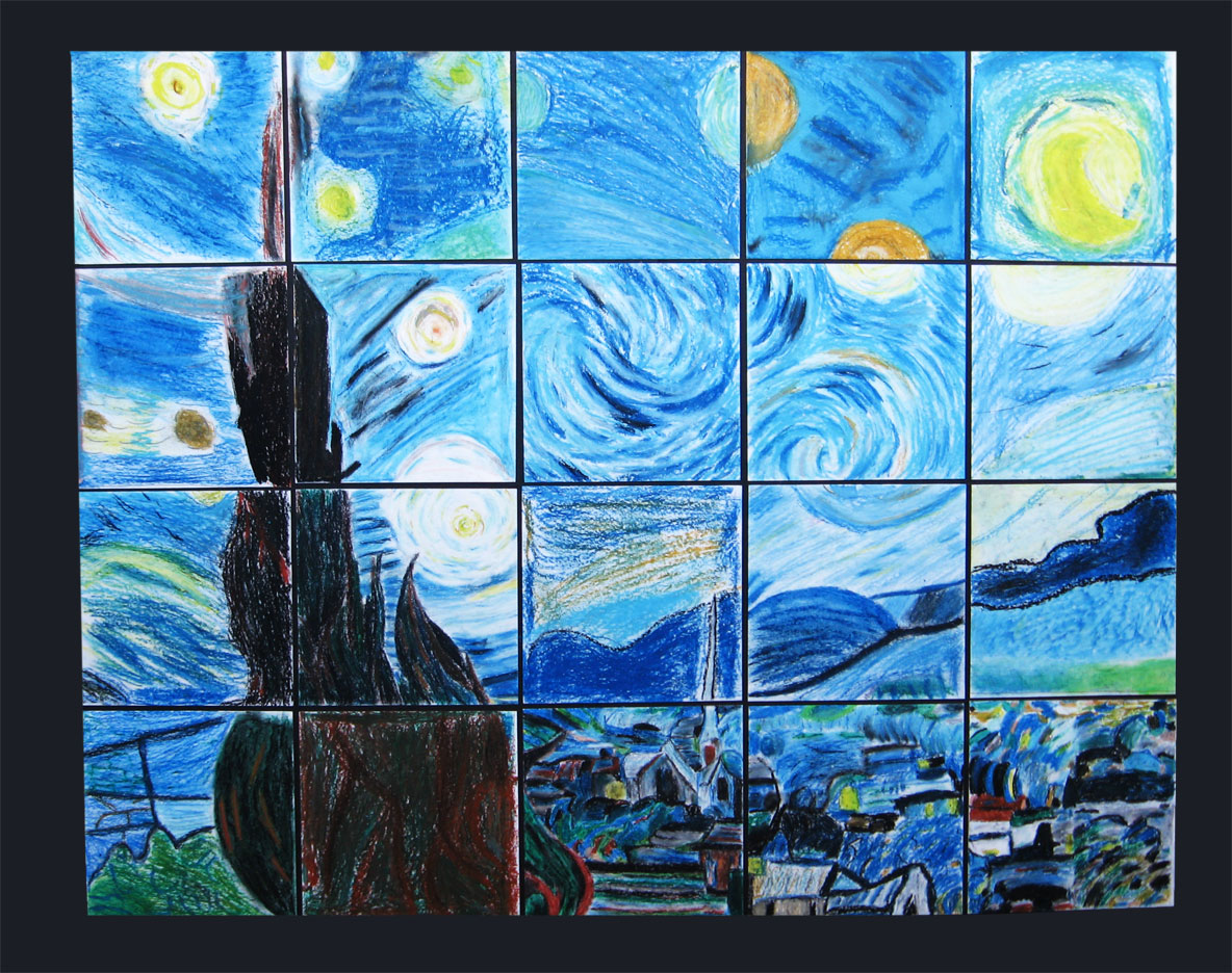 art with mrs french art with mrs french the starry night