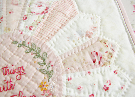 A Word About Hand Quilting, If You Please ... - Pretty by Hand - : how do you do quilting - Adamdwight.com