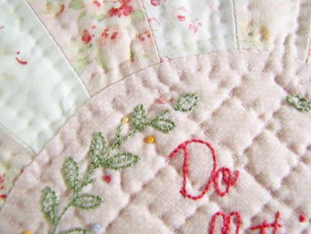 A Word About Hand Quilting, If You Please ... - Pretty by Hand - : hand quilted quilts - Adamdwight.com