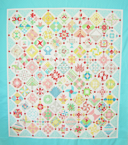 Farmer's Wife Quilt - The Big Assembly - Pretty by Hand - : the farmers wife quilt - Adamdwight.com