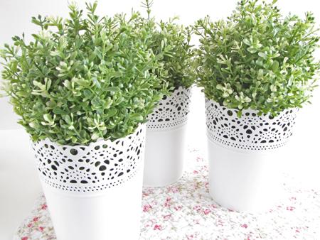 SKURAR Plant pot, off-white indoor/outdoor, off-white ...