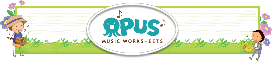 Opus Music Worksheets