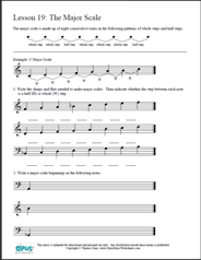graphic relating to Printable Piano Scales known as No cost Printable Tunes Worksheets Opus Audio Worksheets