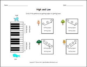 music theory worksheets free pdf