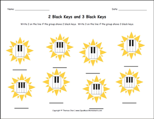 Beginner Piano Lesson Worksheets: free printable music worksheets opus music worksheets music ,