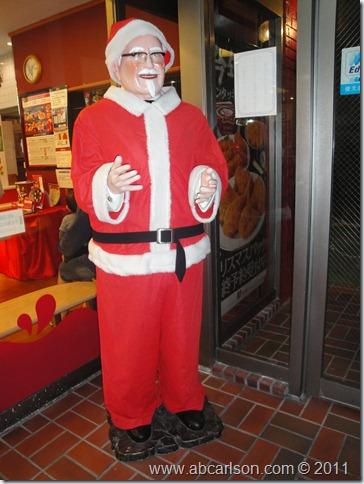 Colonel Santa Sanders