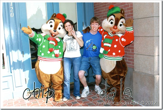 Chip&Dale Standing