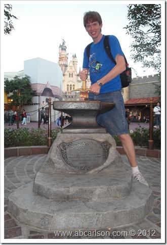 HKD Sword in Stone