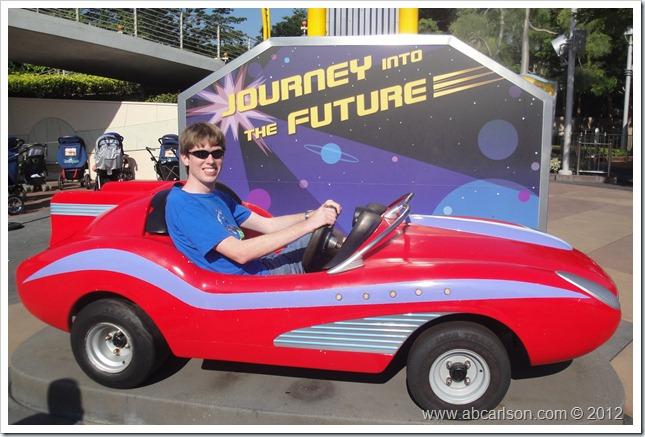 HKD Tomorrowland Car