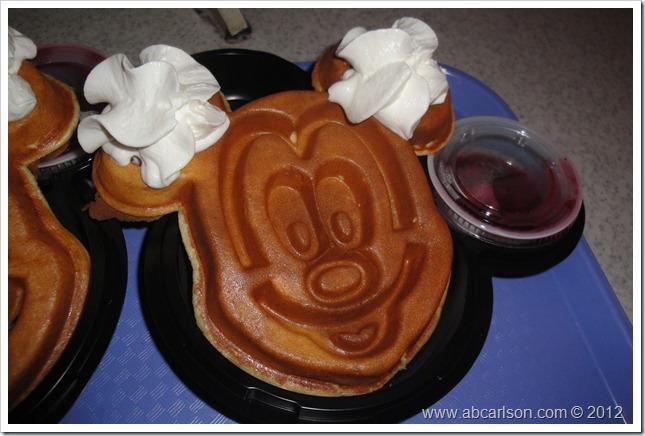 HKD Mickey Waffles