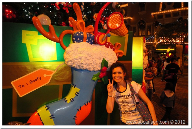 HKD Goofy Stocking