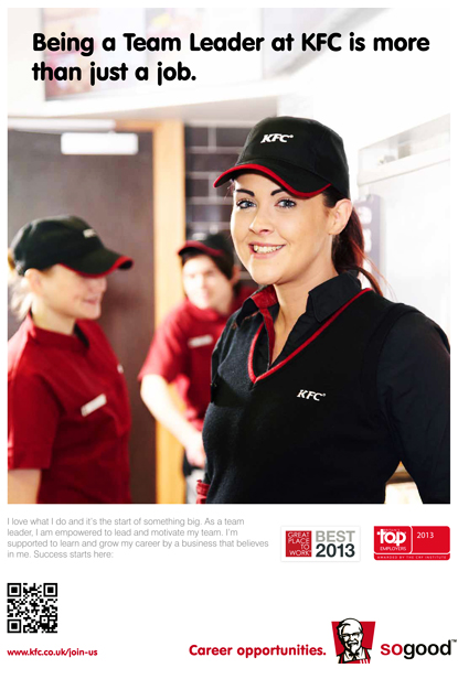 recruitment of kfc Jobs 1 - 10 of 141  so how kfc are you kfc is looking to recruit team members for our  restaurants kfc has over 850 restaurants in the uk and employs over.