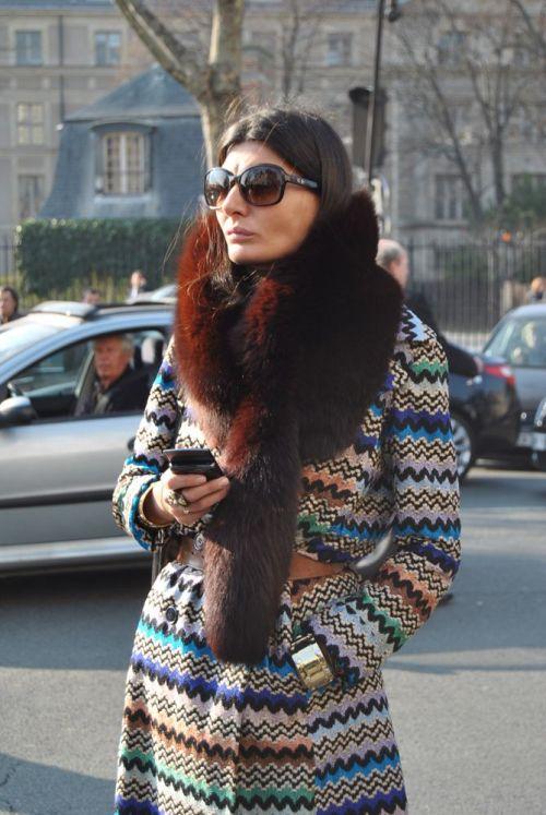 Giovanna Battaglia photographs courtesy of Fashion Spot and PurseForum