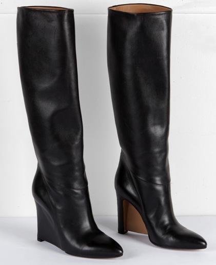 Maison Margiela Wedge knee high boots