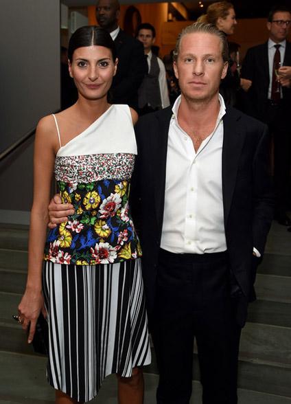 Giovanna Battaglia couple