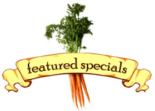Featured Specials