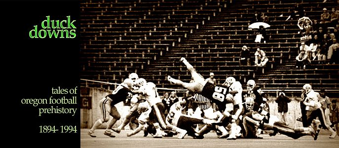 duck downs: oregon football history