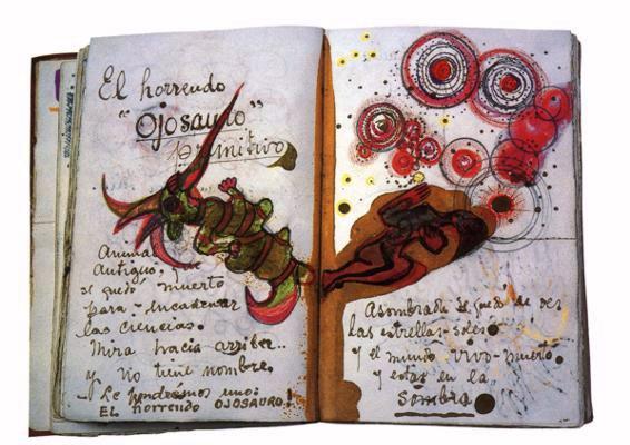 Jedna od stranica dnevnika