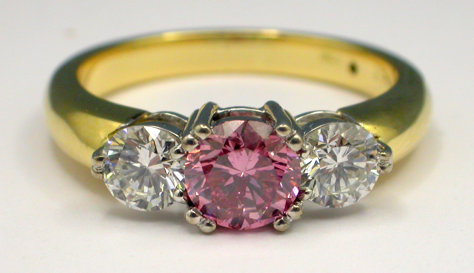 Argyle Pink Diamond Engagement Ring JEWELLERY A Genius with Gems