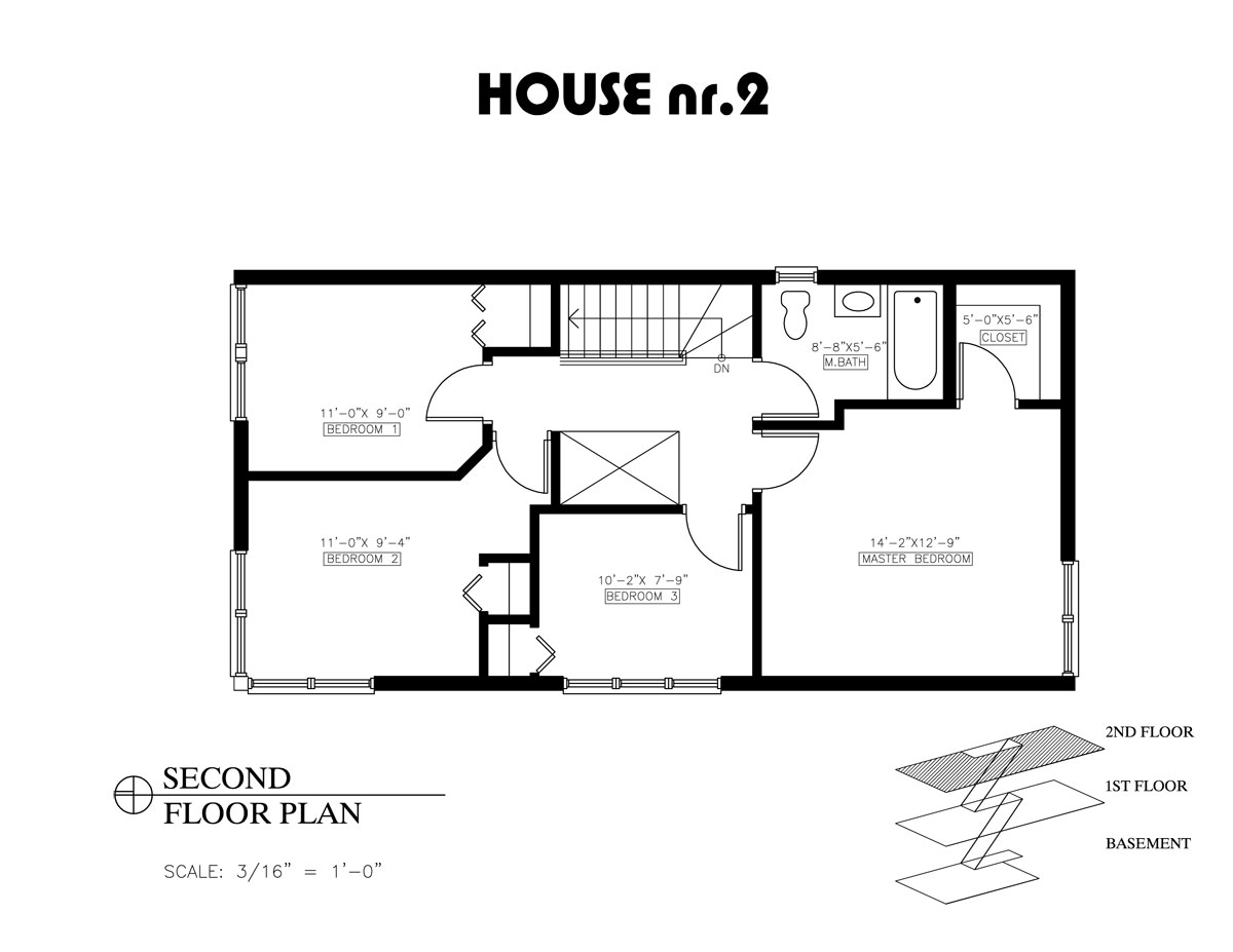 Greenline homes house 2 for Two storage house designs
