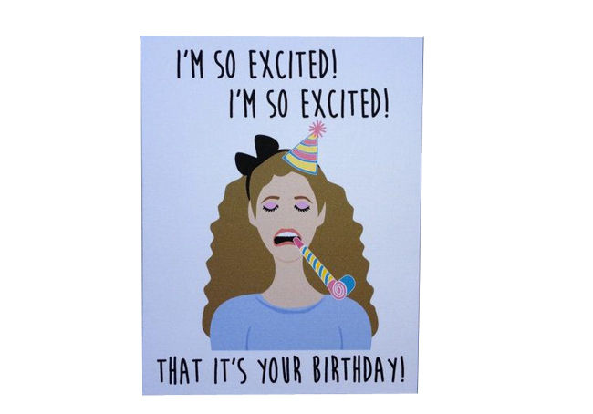 06caf774026e You re Welcome - You re Welcome -  GIFTED  Jessie Spano Birthday Card