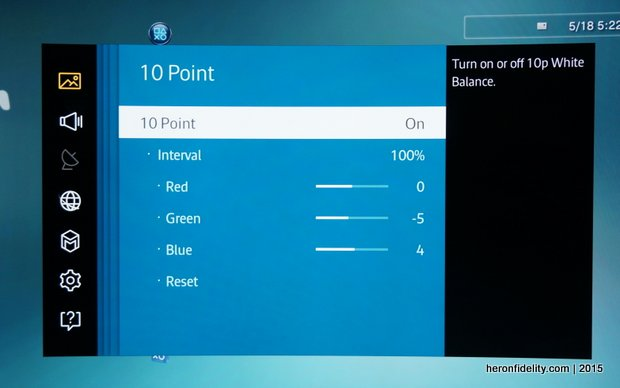 Review: Samsung JS9500 SUHD TV - Blog - [Heron Fidelity]
