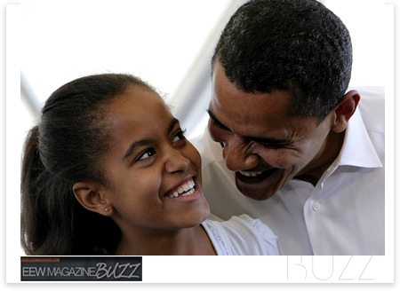 who is president obama daughter dating daddy
