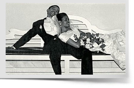 Michelle And Barack Obama Wedding Pictures