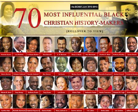 Black christian people
