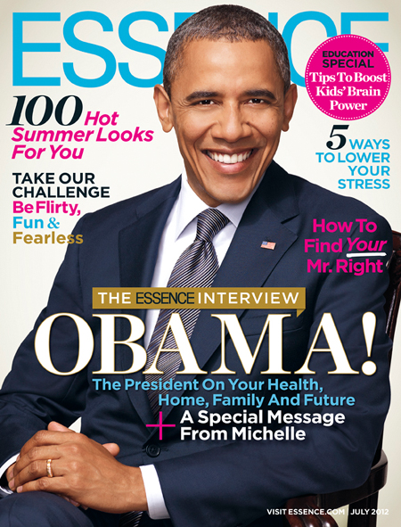 Obama Covers Essence Magazine!