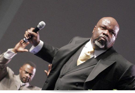 Bishop T D  Jakes Delivers Strong Message to Fathers, Says