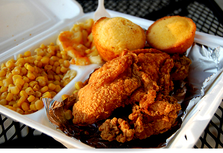Do churches have a responsibility to promote healthy for American traditional cuisine