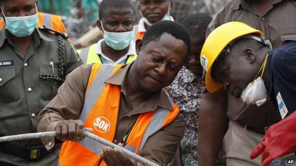 Tragic: Nigerian Church Collapse Kills 80, TB Joshua Ministries