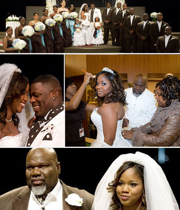 Td Jakes Daughters Wedding.Bishop T D Jakes Daughter Sarah Jakes Toure Roberts