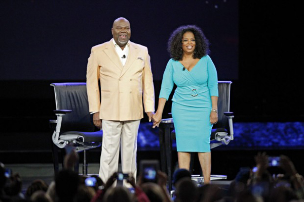Td Jakes Quotes On Family: Oprah Raves About Bishop T.D. Jakes' Online Service